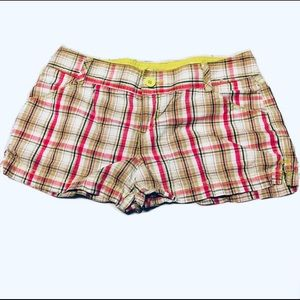 🐣2/$20 SO Plaid Colourful Shorts
